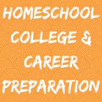 Homeschool College Button Image