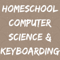 Homeschool Computer Button Image