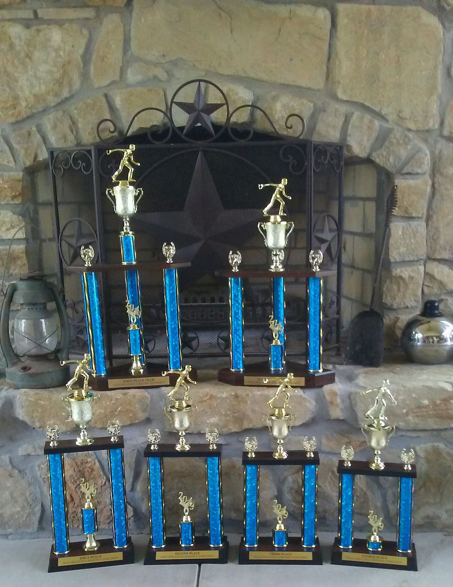 2019 HS State Tour Trophies