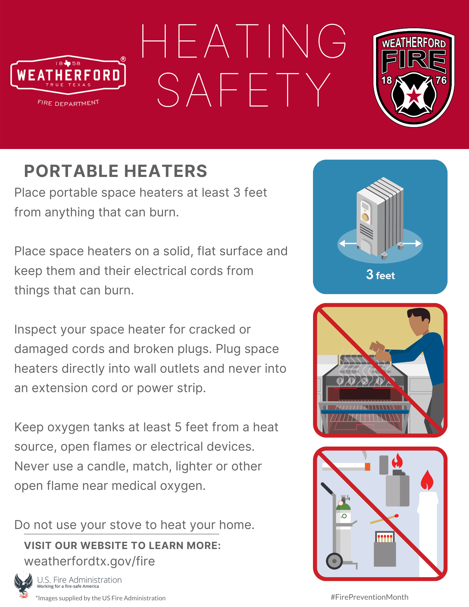 Heating Safety - Portable Heaters