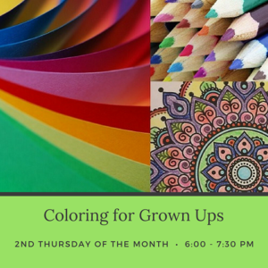 Coloring for Grown Ups Graphic